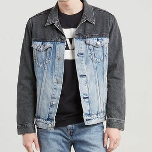 Levi's Men Colorblock Denim Trucker Jacket